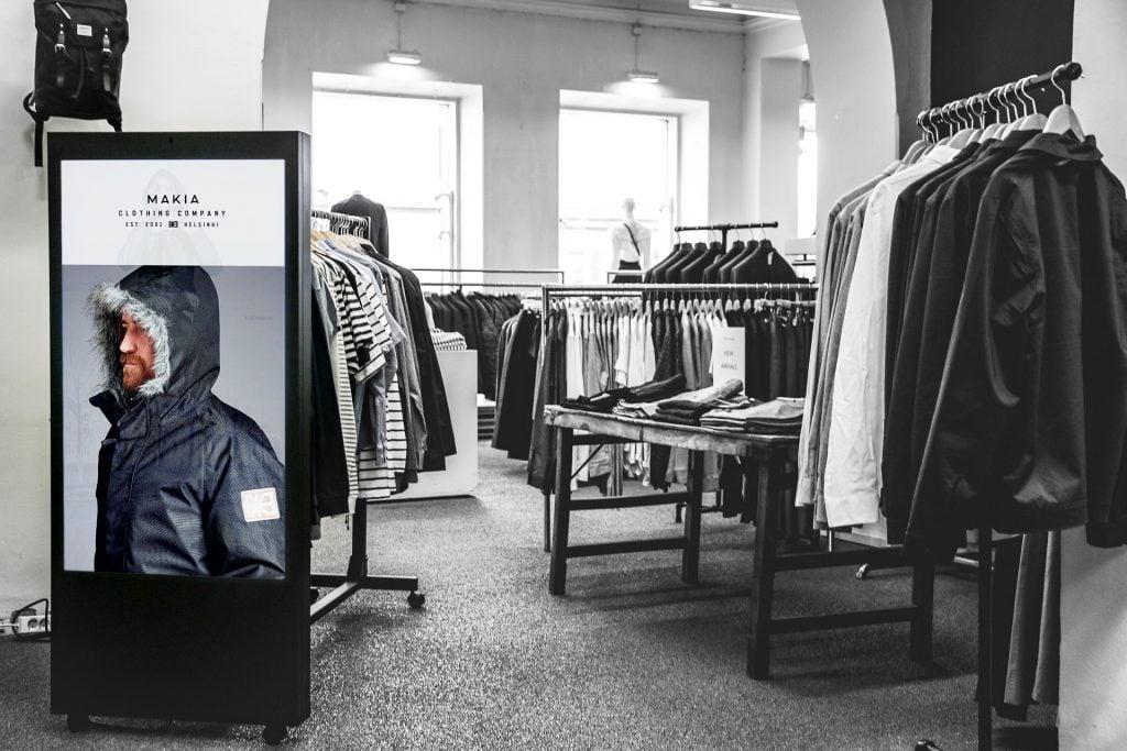 Digitaaliset myymäläkalusteet uudistavat myymälän visuaalisen ilmeen
