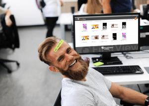 FirstView MediaCloud-käyttöliittymällä hallitset infonäyttöjen sisältöjä helposti