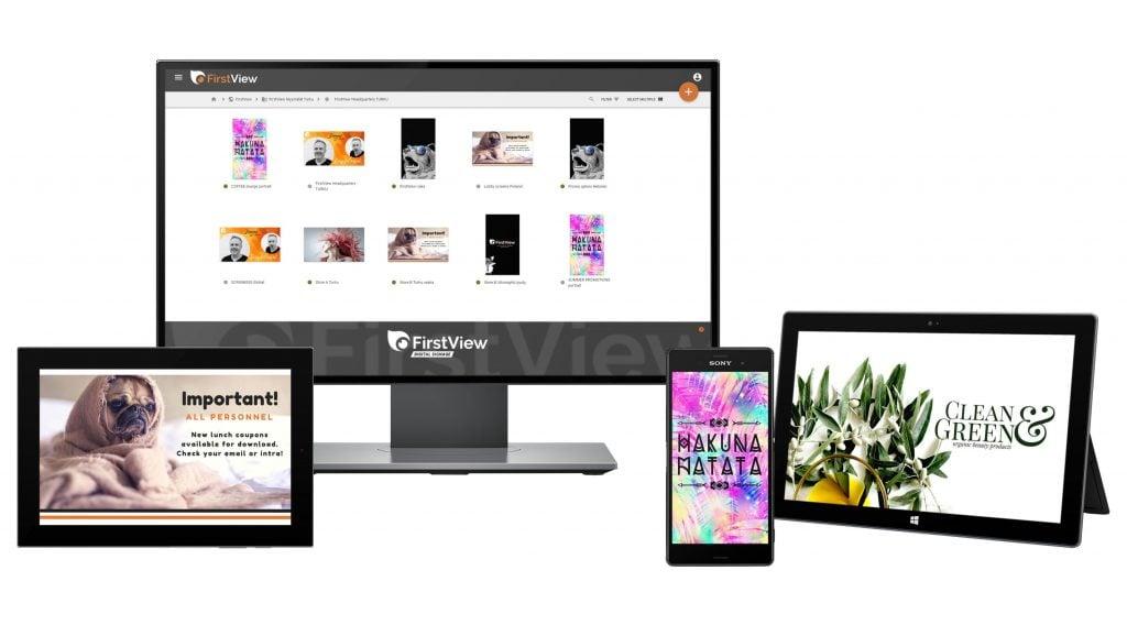 MediaCloud sisällönhallinta toimii kaikilla päätelaitteilla