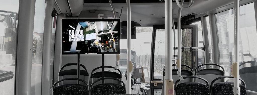 Digitaalinen bussimainonta – Suomen liikennemediat